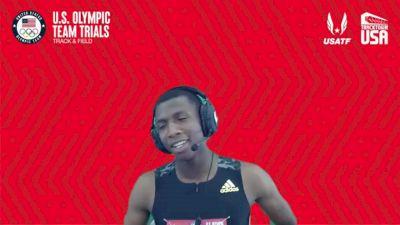 Erriyon Knighton - Men's 200m First Round