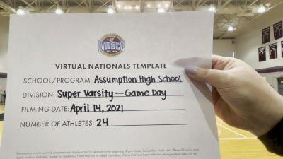 Assumption High School [Virtual Super Varsity - Game Day Finals] 2021 UCA National High School Cheerleading Championship