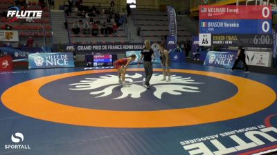68 kg - Forrest Molinary, USA vs Veronica Braschi, Italy