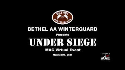 Bethel AA Winterguard - Under Siege