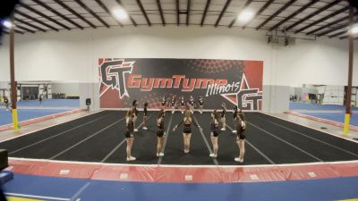 Gymtyme Illinois - Snap [L4 Junior] 2021 Varsity All Star Winter Virtual Competition Series: Event V