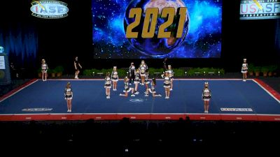 Lunar Viper Allstars - Eclipse [2021 L6 Senior Open Small Coed Semis] 2021 The Cheerleading Worlds