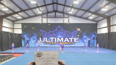Ultimate Cheer Lubbock - Tiny Queens [L1.1 Tiny - PREP - D2] 2021 NCA All-Star Virtual National Championship