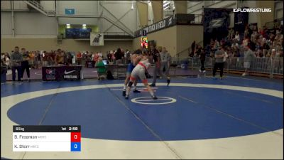 65 kg Quarterfinal - Ben Freeman, Michigan Regional Training Center vs Kanen Storr, Michigan Regional Training Center
