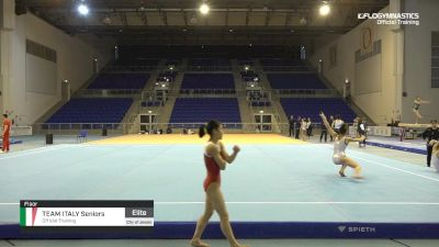 Team Italy Seniors - Floor, Official Training - 2019 City of Jesolo Trophy
