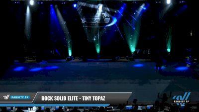 Rock Solid Elite - Tiny Topaz [2021 L1.1 Tiny - PREP Day 2] 2021 The U.S. Finals: Pensacola