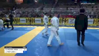 NOAH MICHAEL BESHARA vs JASON TREY LEES 2021 Pan Kids Jiu-Jitsu IBJJF Championship