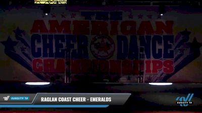 Raglan Coast Cheer - Emeralds [2021 L1 Junior - Small 2] 2021 The American Celebration DI & DII