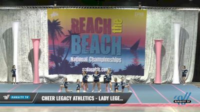 Cheer Legacy Athletics - Lady Legends [2021 L2 Performance Recreation - 18 and Younger (NON)] 2021 Reach the Beach Daytona National