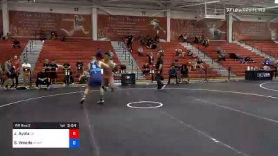 87 kg Prelims - Job Ayala, Wisconsin vs Spencer Woods, Army (WCAP)