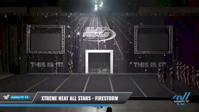 Xtreme Heat All Stars - Firestorm [2021 L2 Youth - Small Day 1] 2021 The U.S. Finals: Sevierville