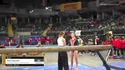 Molly Maxwell - Beam, Southeast Missouri State University - 2021 GymQuarters Invitational