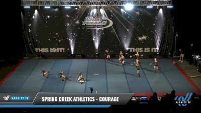 Spring Creek Athletics - Courage [2021 L3 Junior - D2 - Small Day 1] 2021 The U.S. Finals: Pensacola