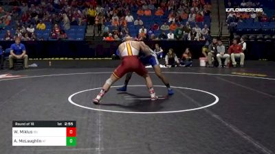 197 lbs Round Of 16 - Willie Miklus, Iowa State vs Anthony McLaughlin, Air Force