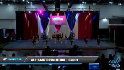 All-Star Revolution - Glory [2021 L2 Senior - Small Day 2] 2021 The American Spectacular DI & DII