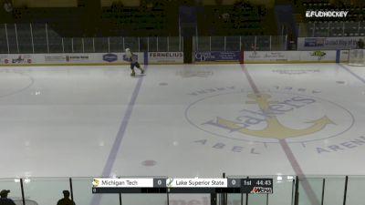 Full Replay - Michigan Tech vs Lake Superior | WCHA (M)
