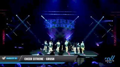 Cheer Extreme - Kernersville - Crush [2021 L6 Junior Day 2] 2021 Spirit Sports: Battle at the Beach