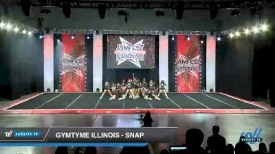GymTyme Illinois - Snap [2021 L4 Junior - Small - B Day 1] 2021 JAMfest Cheer Super Nationals