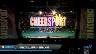 Galaxy AllStars - Starlight [2021 L2 Junior - D2 - Small - B Day 2] 2021 CHEERSPORT National Cheerleading Championship
