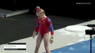Ella Kate Parker - Vault, Cincinnati Gym - 2021 US Championships Day 1