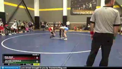112 lbs Round 3 (3 Team) - Eva Diaz, Grand View vs Jalynn Goodale, FEWTeamIowa