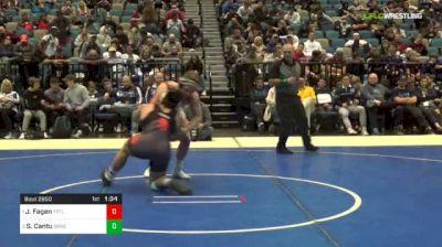 195 lbs Final - Jonathon Fagen, Fruitland vs Santos Cantu, Sprague