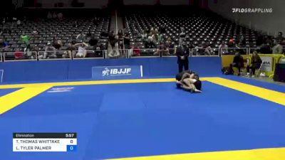 TREVOR THOMAS WHITTAKER vs LANCE TYLER PALMER 2021 World IBJJF Jiu-Jitsu No-Gi Championship