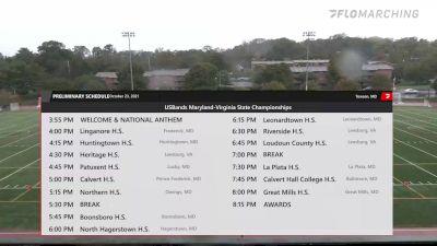Replay: USBands MD-VA State Championships | Oct 23 @ 4 PM
