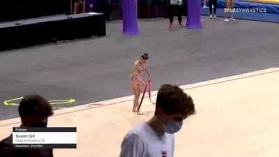 Lily Avila - Ribbon, T&T Express - 2021 USA Gymnastics Championships