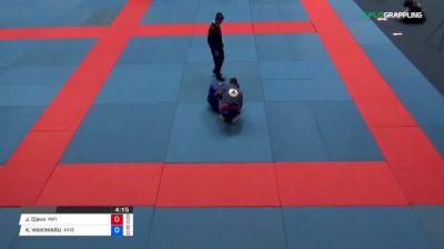 Jackson Djavn De Souza vs KOUKICHI WAKIMARU 2018 Abu Dhabi Grand Slam Tokyo