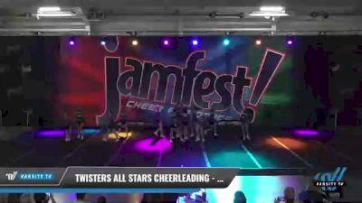 Twisters All Stars Cheerleading - Vortex [2021 L2 Junior - D2 - Small - A Day 2] 2021 JAMfest: Liberty JAM