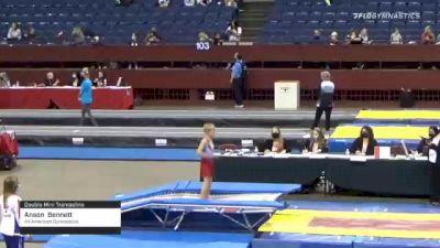 Anson  Bennett  - Double Mini Trampoline, All American Gymnastics  - 2021 Region 3 T&T Championships