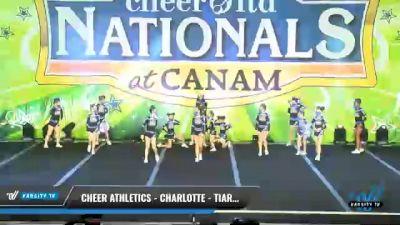 Cheer Athletics - Charlotte - TiaraCats [2021 L1 Mini - Small Day 1] 2021 Cheer Ltd Nationals at CANAM