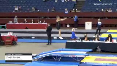 Patrick  Conway  - Double Mini Trampoline, Tulsa Gymnastics Academy  - 2021 Region 3 T&T Championships
