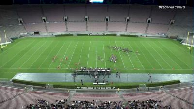 Golden Empire at 2021 Drum Corps at the Rose Bowl
