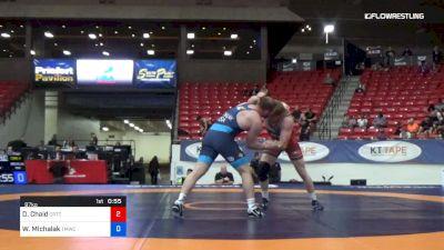 97 kg Cons 4 - Danny Chaid, California RTC vs Wynn Michalak, TMWC