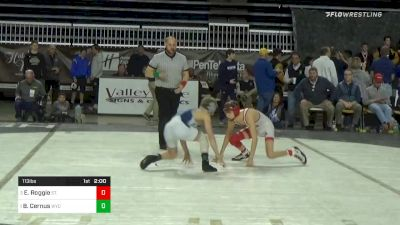 113 lbs Final - Erik Roggie, St. Christophers vs Brennen Cernus, Wyoming Seminary