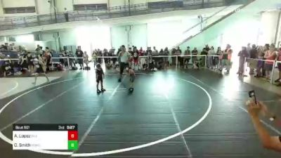 50 lbs Quarterfinal - Pablo Segura Jr, Misfits vs Hayden Howard, Granite Hills WC