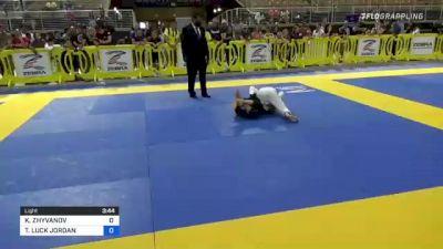 KOSTIANTYN ZHYVANOV vs TABER LUCK JORDAN 2021 Pan Kids Jiu-Jitsu IBJJF Championship