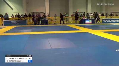 CAROLINA VIEIRA DO CARMO MASSOT vs KEANNA CAROLYN KLAY 2021 American National IBJJF Jiu-Jitsu Championship