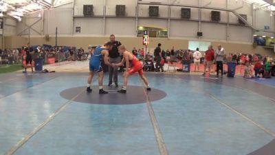 63 kg Quarterfinal - Dalton Roberts, NYAC/NMU vs Matt Santos, Michigan State