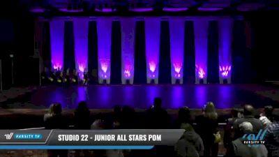 Studio 22 - Junior All Stars Pom [2021 Junior - Pom Day 1] 2021 GLCC: The Showdown Grand Nationals