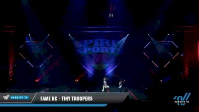 FAME NC - Tiny Troopers [2021 L1 Tiny Day 1] 2021 Spirit Sports: Battle at the Beach