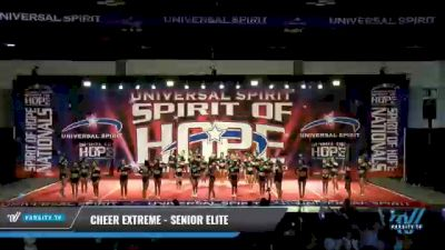 Cheer Extreme - Kernersville - Senior Elite [2021 L6 Senior Large] 2021 The MAJORS