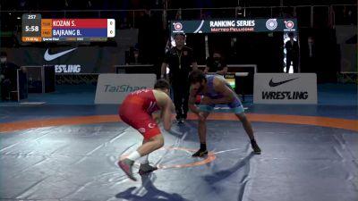65 kg Selim KOZAN, TUR vs Bajrang BAJRANG, IND