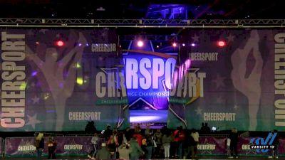 ACE Cheer Company - GAD - Creeks [2020 Senior Coed Small 3 Day 1] 2020 CHEERSPORT National Cheerleading Championship