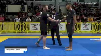 Victor Hugo Costa Marques vs Jordan Wayne-Emerson More 2021 Pan IBJJF Jiu-Jitsu No-Gi Championship