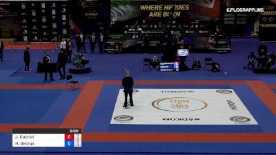 João Gabriel Batista De Sousa vs Hiago George Abu Dhabi King of Mats, Lightweight