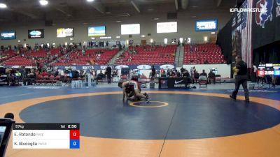 57 kg Rnd Of 64 - Ethan Rotondo, University Of Wisconsin vs Kyle Biscoglia, Panther Wrestling Club RTC