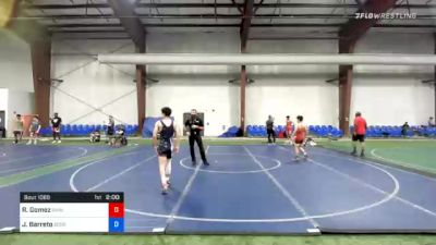 113 lbs 3rd Place - Rick Gomez, Rhino Wrestling vs Jaydin Barreto, Scorpions